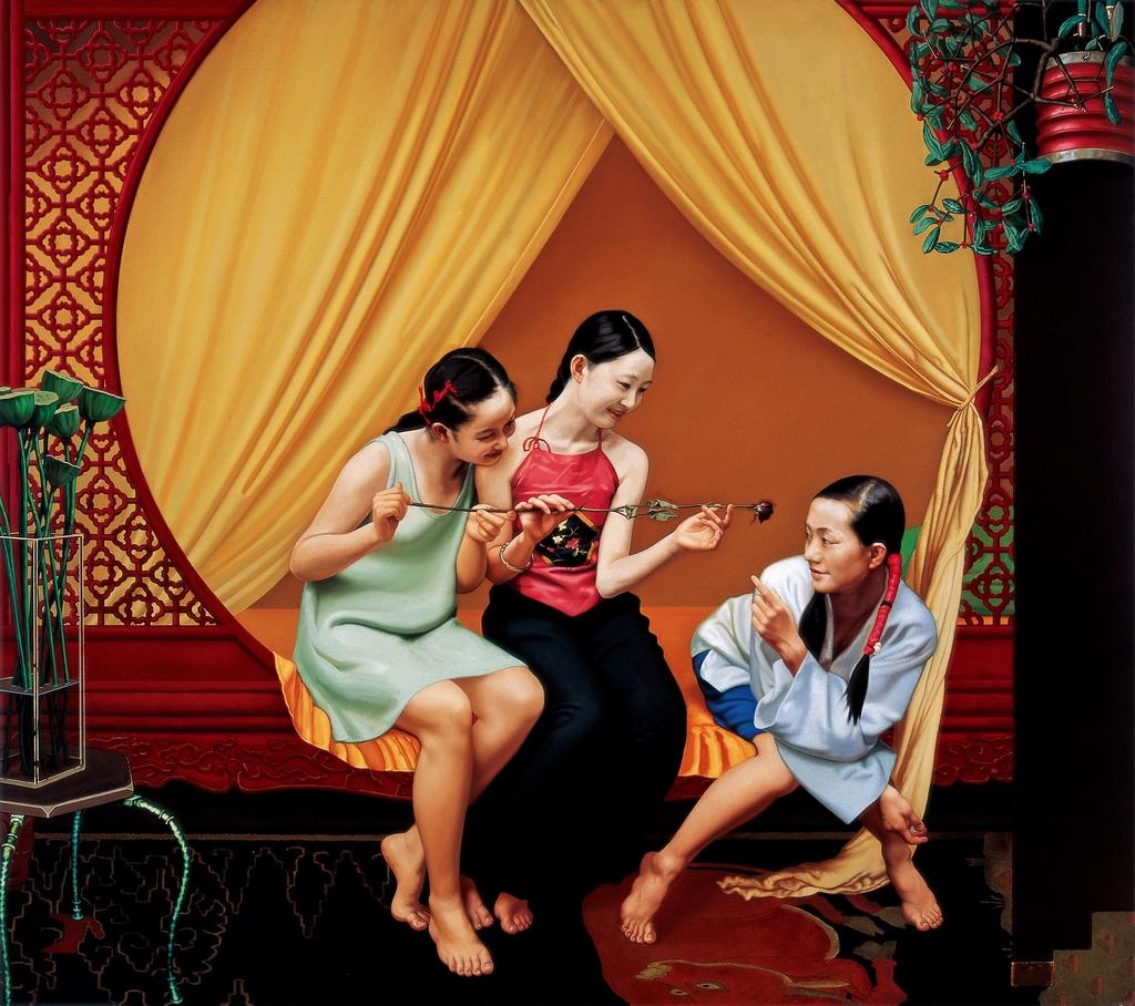 典雅的欲望夏星油画作品浅议夏星 - 石墨閣藝術長廊 - 石墨閣藝術長廊--雨濃的博客