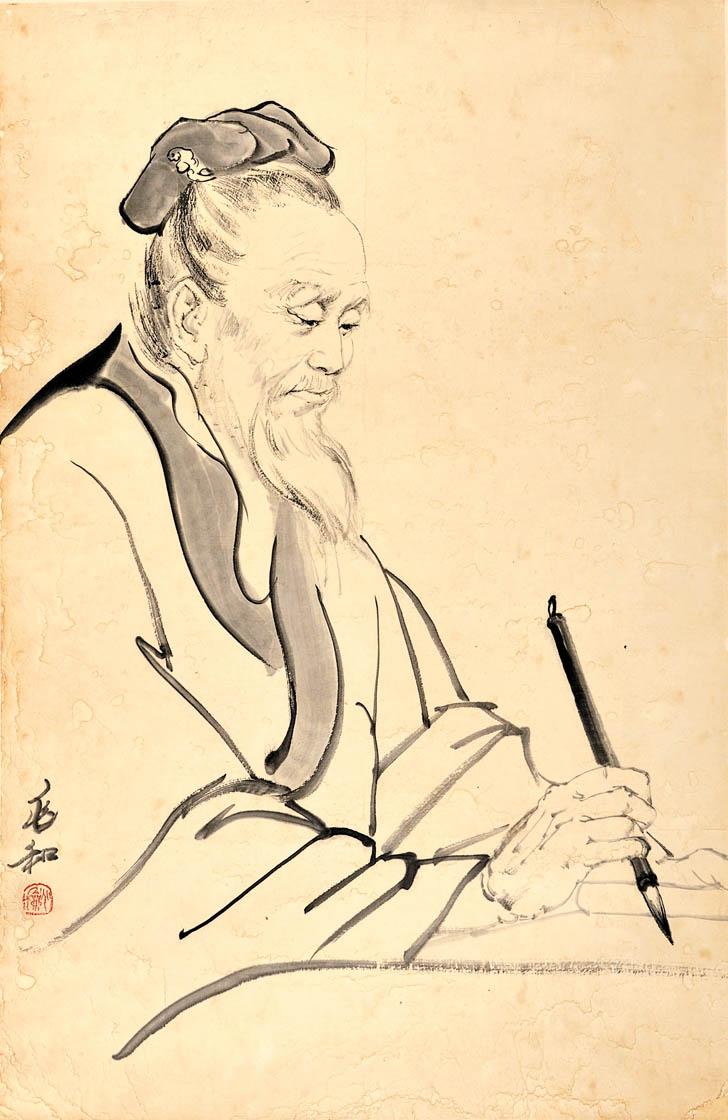 中国近代著名画家 蒋兆和作品欣赏 - 爾東先生 - 爾東先生的博客
