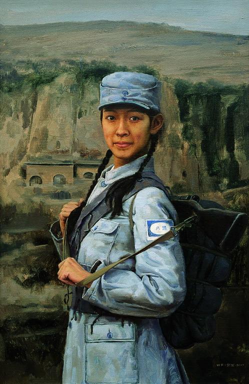坚守在现实主义绘画领域--周武发先生油画 - 石墨閣画廊 - 石墨閣画廊--雨濃的博客