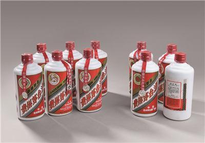 1993~1994年贵州茅台酒(铁盖)