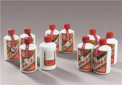 """1980~1985年""""飞天牌"""" 外销贵州茅台酒(140ml)"""