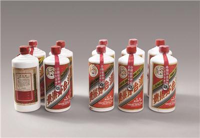 """20世纪80年代初期""""飞天牌"""" 外销贵州茅台酒"""
