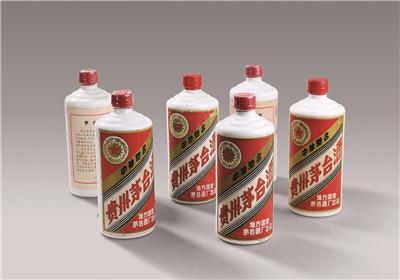 """1983~1986年""""五星牌""""内销 贵州茅台酒(地方国营)"""