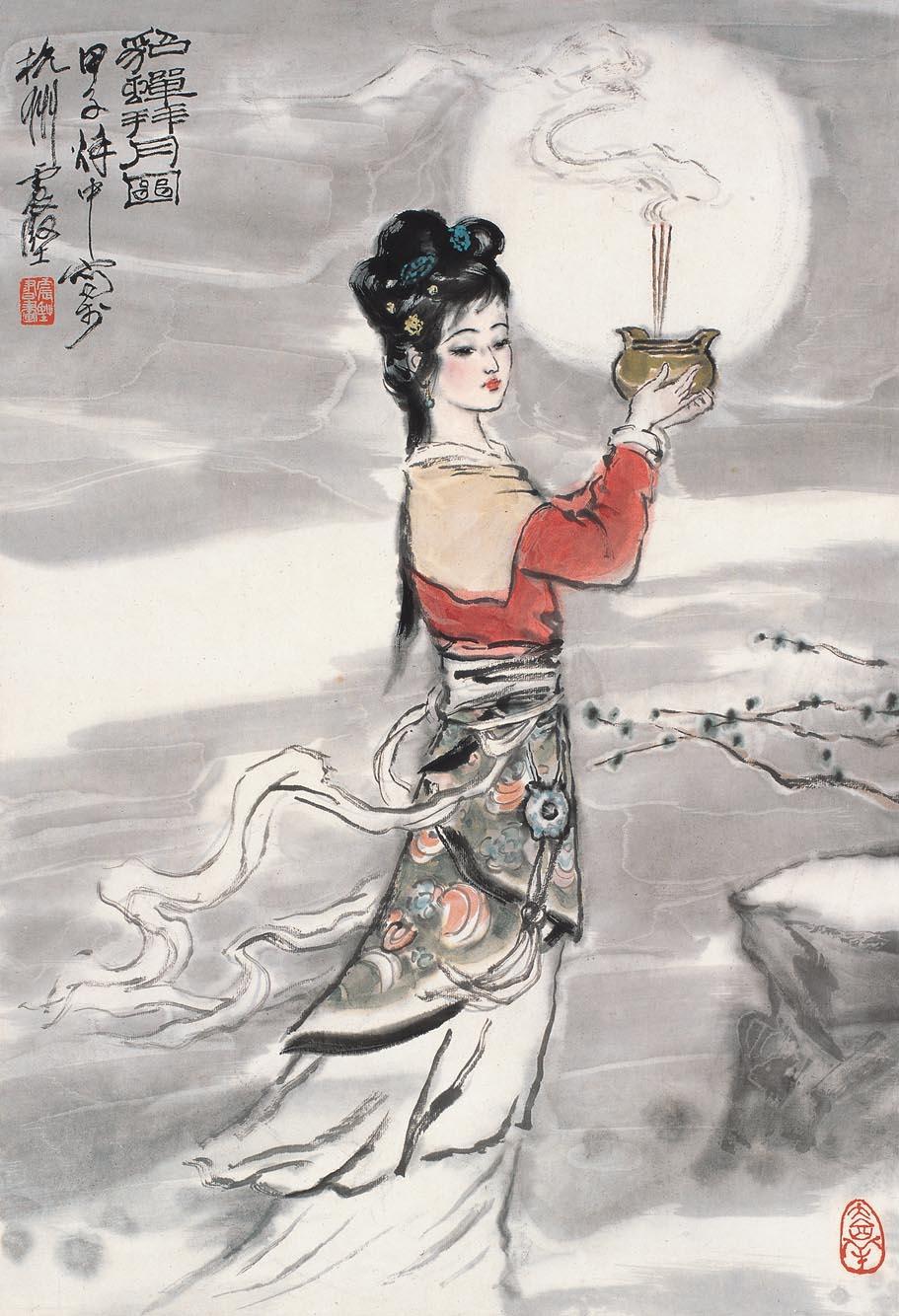 [自然美]中国画 --李震坚作品 - 石墨閣画廊 - 石墨閣画廊--雨濃的博客